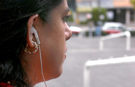 Uso de audífonos