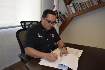 Firman Defensoría e INE convenio para promover derechos humanos en plataformas electorales
