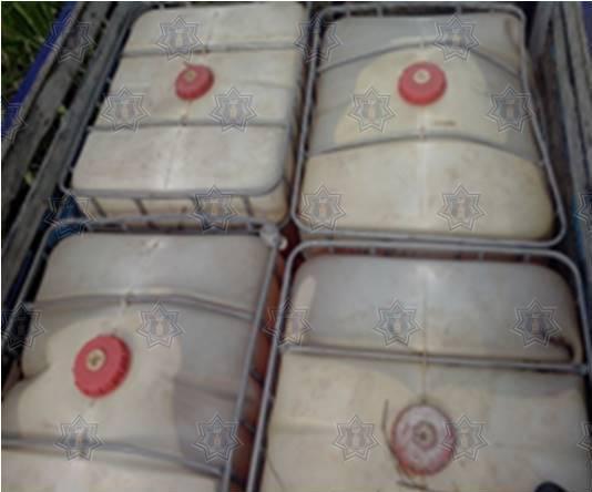 Asegura Ejército Mexicano 40 mil litros de hidrocarburo en el Estado de México