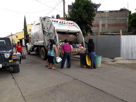 Mejoran servicio en Santa Lucía del Camino