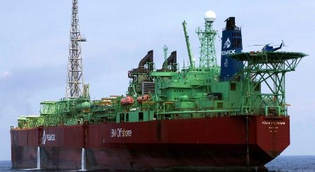 """Realizará Pemex trabajos de mantenimiento al buque-tanque """"El Señor del Mar"""""""