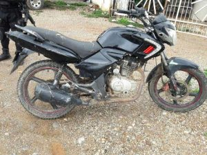 Motocicleta Italika, número de serie 3SCPFTDE1B1023035, modelo 2011, color negro y sin placa.
