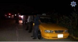 """Taxi del sitio """"Reforma"""", número económico 797 y placas 6741SJH."""