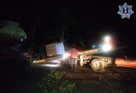 Aseguran tres mil 150 litros de hidrocarburo ilícito en Salina Cruz, Oaxaca