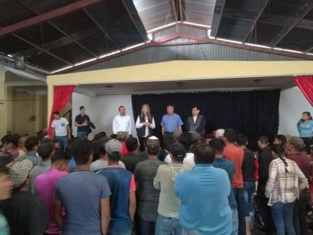 Diálogo con autoridades mexicanas