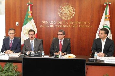 En revisión del Acuerdo Comercial, cuidará Senado soberanía nacional y estabilidad económica: Monreal
