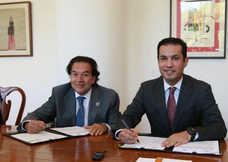 Firman convenio IMSS-INCAN, para fortalecer el Registro Nacional de Cáncer