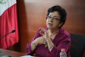 Lovera hizo un recuento histórico sobre la participación política de las mujeres.