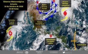 Istmo, Costa y Sierra Sur por lluvias