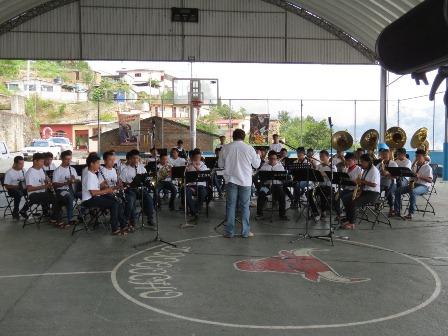 Banda de música de estudiantes