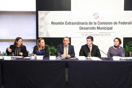 Comisión de Federalismo y Desarrollo Municipal
