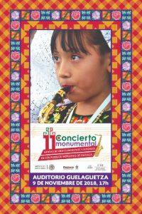 9 de noviembre a las 17:00 horas en el Auditorio Guelaguetza.