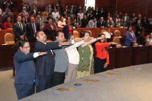 Toma de protesta a la Junta de Coordinación Política.