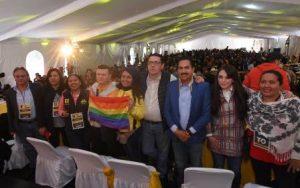 Karen Quiroga Anguiano; Fernando Belaunzarán; Ángel Clemente Ávila Romero; Adriana Díaz Contreras y Estephany Santiago.