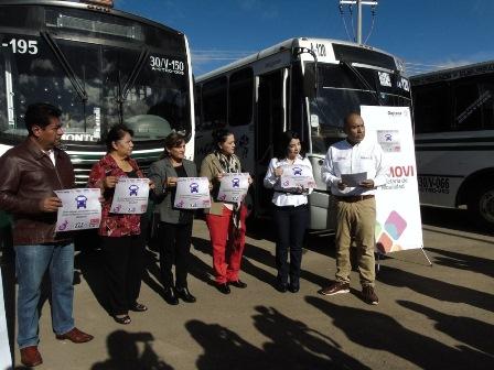 Hacia las mujeres en transporte público