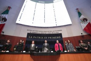 Fiscal General y ratificación de altos funcionarios de la SRE, los temas.