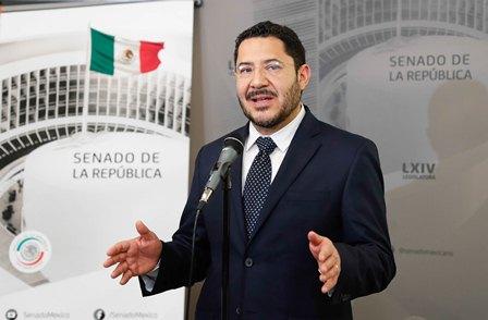Ahorró Senado 300 millones de pesos de septiembre a diciembre de 2018: Martí Batres