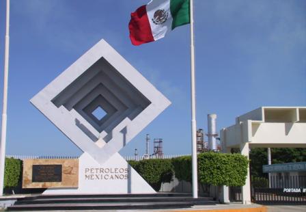 Refinería de Pemex en Salina Cruz