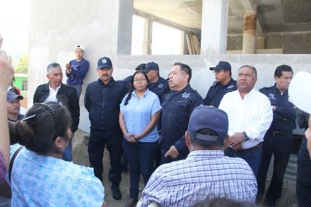 Trabaja Gobierno Municipal de Oaxaca de Juárez para reforzar seguridad en las colonias