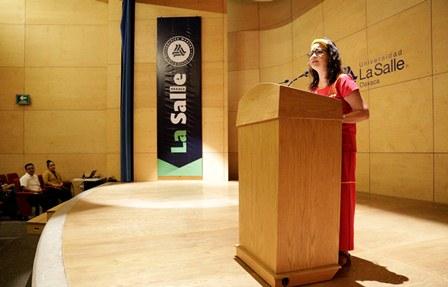 Rectora de la Universidad La Salle Oaxaca