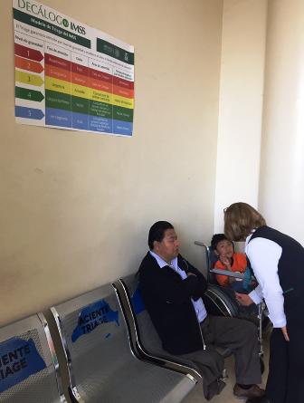 Exhorta IMSS Oaxaca a derechohabientes a usar el Sistema Triage en urgencias