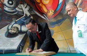 Recorre los murales de Diego Rivera y David Alfaro Siqueiros.
