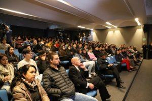 Ponente ante estudiantes en la Cátedra Prima de la Universidad del Pedregal.