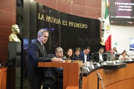 Coordinador del PRD en el Senado
