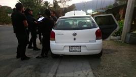 El vehículo era conducido por AR, de 26 años de edad.