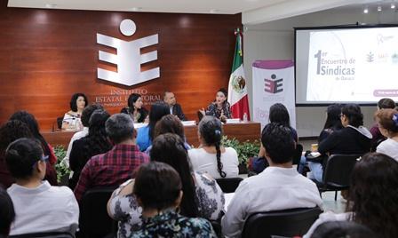 Realizan primer Encuentro de Síndicas Municipales de Oaxaca