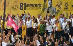 Perredismo de todo el país que se dio cita en el estado de Michoacán.
