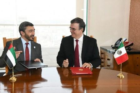 Emiratos Árabes Unidos y México