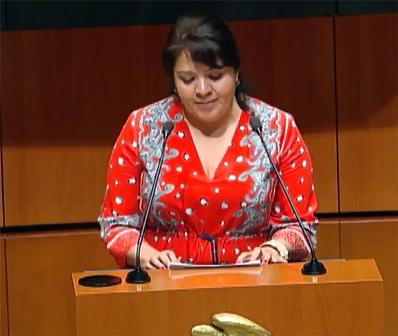 Senadora de Morena