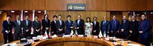 La firma del memorándum fortalece la relación entre la paraestatal y la institución financiera.