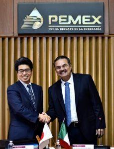 Firman Pemex y JBIC
