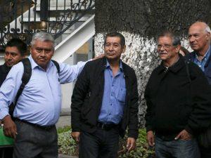 Rubén Núñez Ginez al centro.