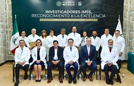 Investigadores del IMSS