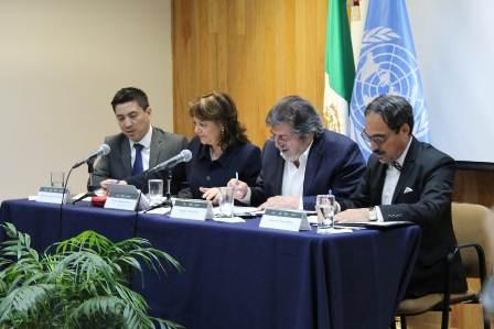 Firma México y ONU-Hábitat convenio para dar asistencia técnica al proyecto de Tren Maya