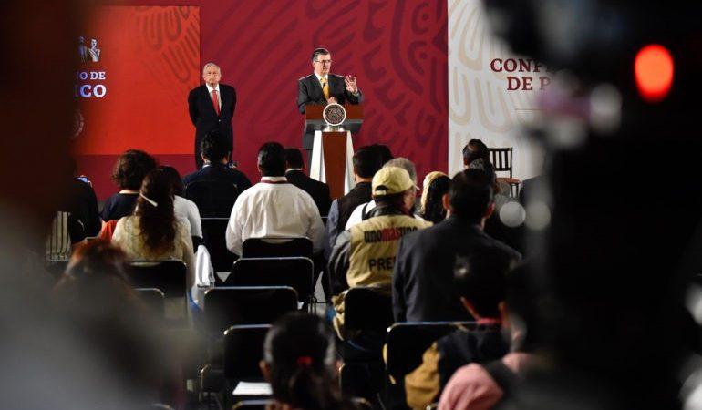 Versión estenográfica de la conferencia de prensa matutina del presidente Andrés Manuel López Obrador