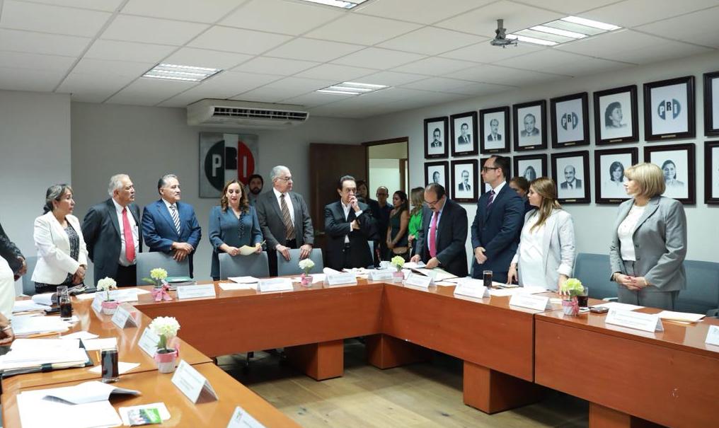 Votación directa de militancia en la elección interna del PRI