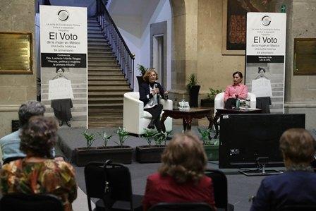 """Presentan """"Prensa, Política y Mujeres: la primera tribuna"""", recorrido histórico-cultural para lograr voto femenino"""