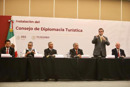 Instalan Sectur y SRE Consejo de la Diplomacia Turística, para promover a México en el exterior