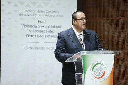 Propone CNDH al Senado revisar legislaciones federal y estatal sobre violencia sexual