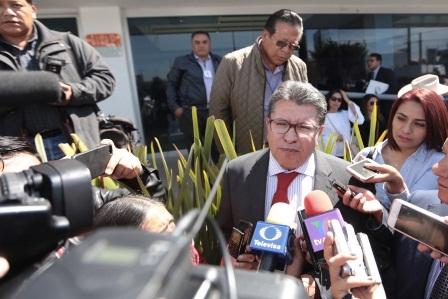 Llama Ricardo Monreal a la unidad para fortalecer el liderazgo del presidente de la República