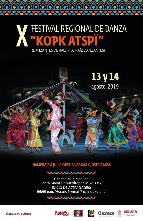 X Festival Regional de Danza Kopk Atspï