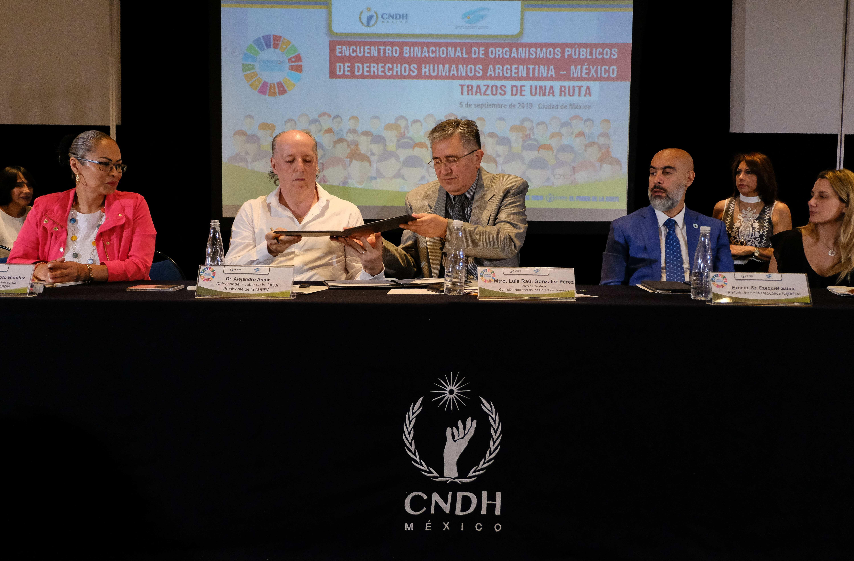 Acuerdan alianza estratégica para trabajar en temas de tortura, infancia, migración y agenda 2030
