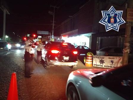 Arrestados 48 conductores en Operativo Alcoholímetro en Valles Centrales y el Papaloapan