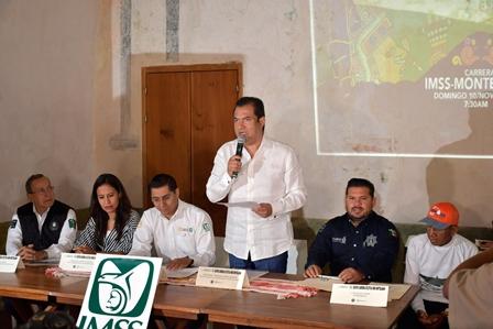 Carrera Atlética IMSS-Monte Albán 2019