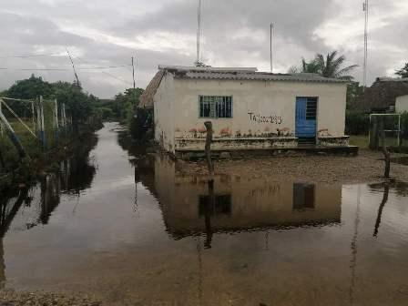 Ante efectos de fuertes lluvias