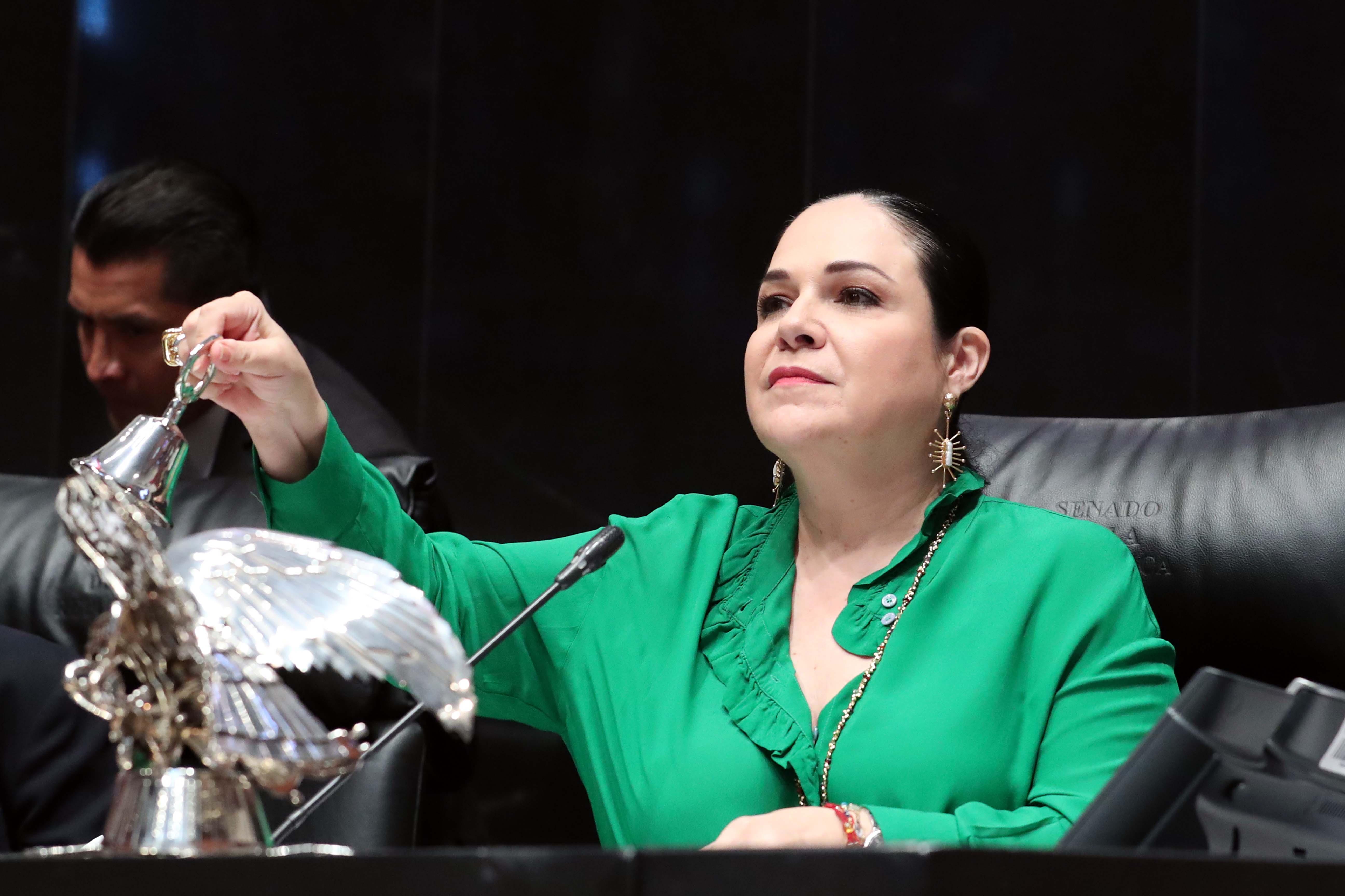 Impulsa Mónica Fernández Balboa mayor productividad del Senado de la República
